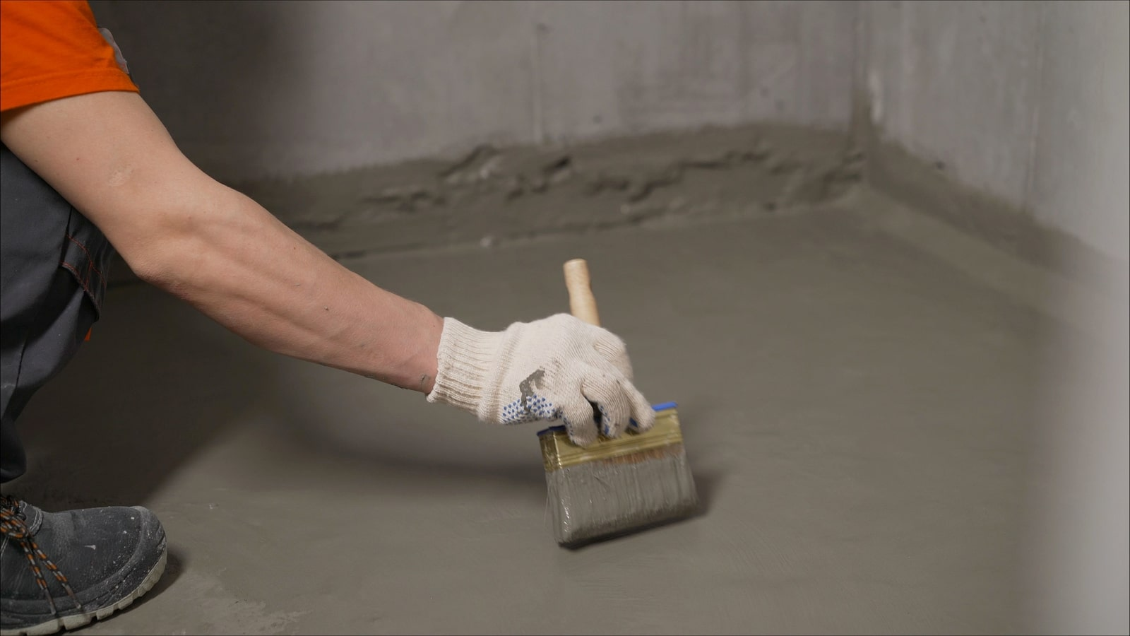 Basement Floor Waterproofing