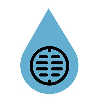 Sewer & Water Main Icon